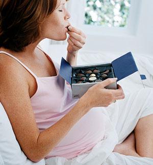 Не тянет на сладкое при беременности