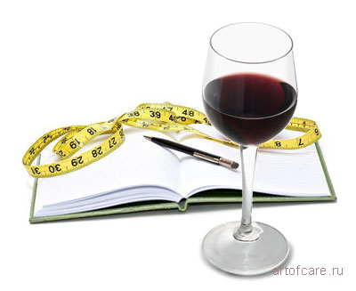 Алкоголь во время похудения