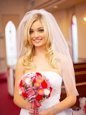 Фото свадебных причесок с распущенными волосами Свадебные прически.