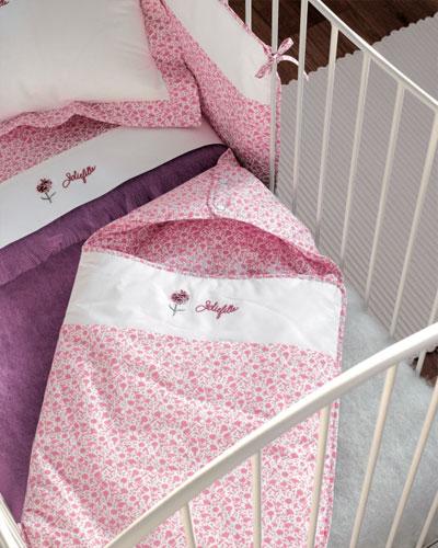 Белье для новорожденного: как украсить детскую 14