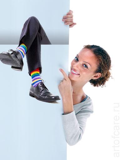Скажи, какие носки у твоего мужчины, и я скажу, что он за особь