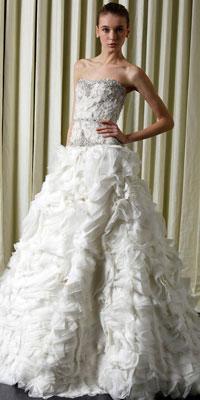 Свадебная мода-2010: новинки и актуальные тенденции