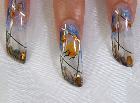 Весна фото дизайн ногтей на свадьбу