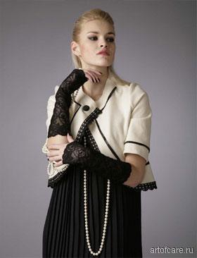 Ярмарка Мастеров - ручная работа Вечерний костюм стиле Коко Шанель.
