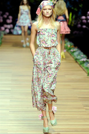 мода весна лето 2011