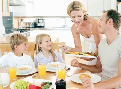 Питание дома может стать причиной развода