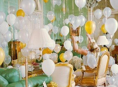 Украшаем дом ко Дню рождения