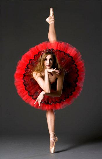 Картинки балерины в танце карандашом 1.