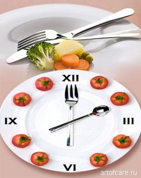 принципы дробного питания для похудения