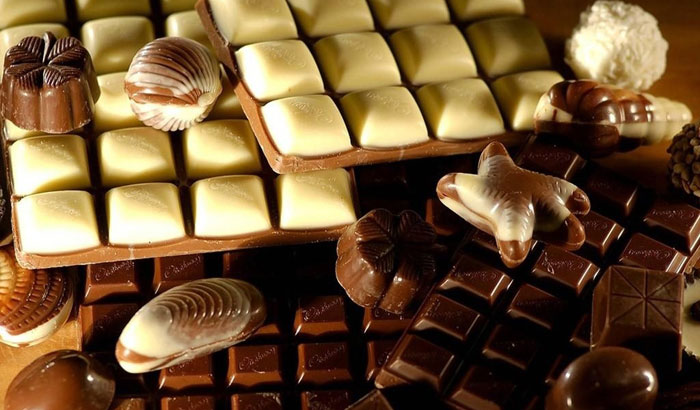 шоколад белый фото