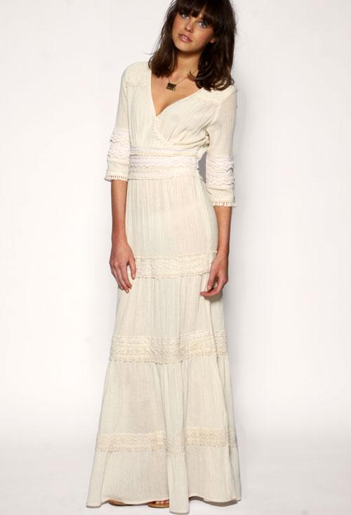 свадебные платья в пол
