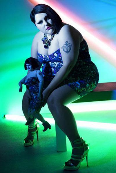Полнота счастью не помеха: Самая скандальная толстушка - певица Бет Дитто