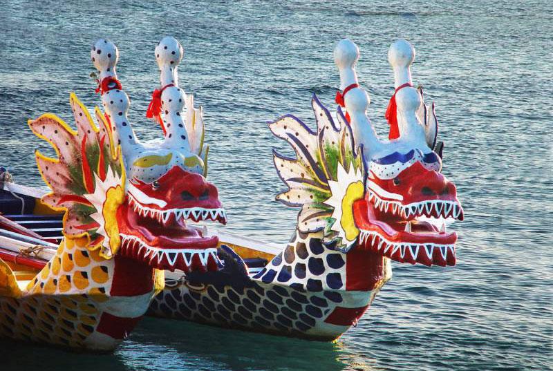 гонки на драконьих лодках китай