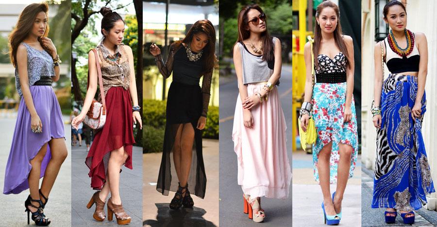 Смотреть длинные юбки фото 2