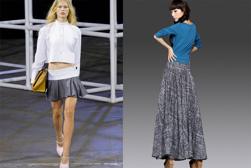 юбки от талии