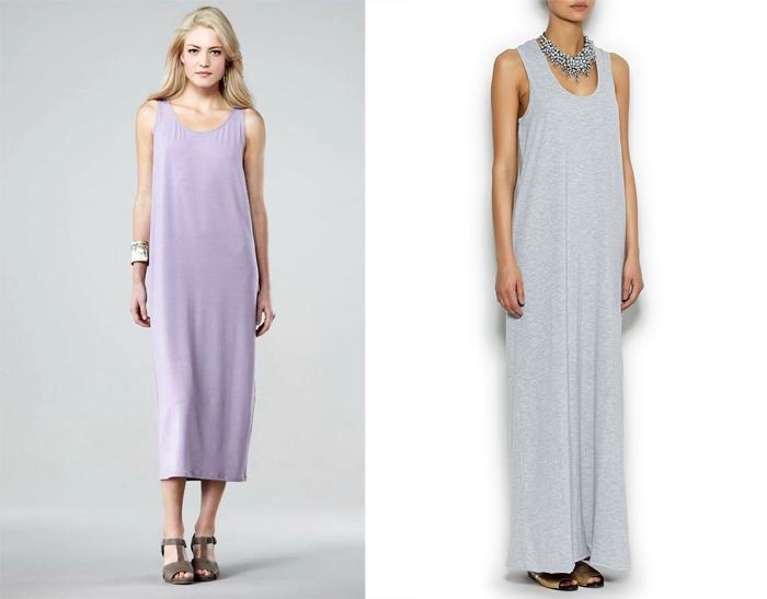 Купить платье майку из трикотажа