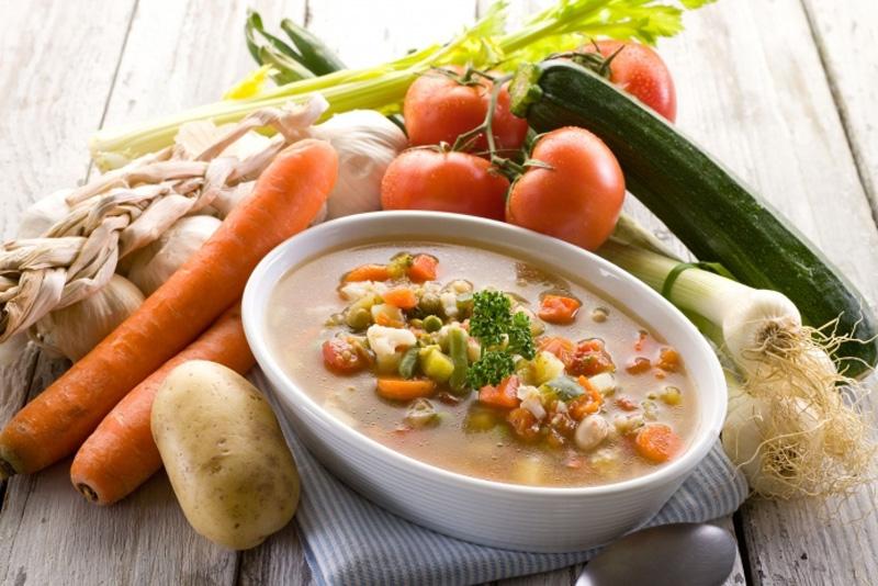 Овощной суп для похудения рецепт с фото