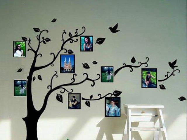 Как нарисовать дерево на стене своими руками