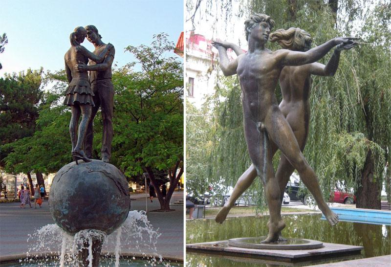 Памятники влюбленным со всего света: Гимн любви в бронзе
