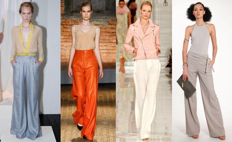 6177c9323116 Свободные брюки – тренд сезона весна-лето 2014