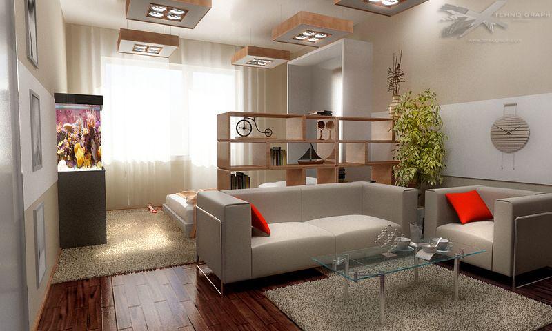 Школа ремонта однокомнатная квартира