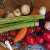 Сытный овощной салат: шведский стол у вас дома