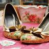 Преображение обуви: Мастер-класс по декупажу туфель