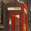 Телефонная реформа: или Телефонные будки Лондона в зеленом цвете