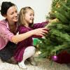 Традиция украшать елку, или Вместо ели – ветка персикового дерева