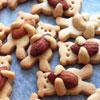 Сладкое «мимими» от японского повара: Рецепт печенья «Мишка с орехом»