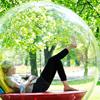 Спрятаться в кокон: Дизайнеры создали дом-шар, пригодный для жизни