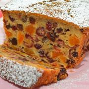 Фруктово-ореховый кекс – угощенье всем на загляденье