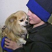 12-летний петербуржец потушил пожар и спас собаку