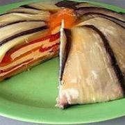 Баклажанный торт, или Рецепт королевских баклажанов по-арабски
