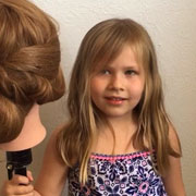 Как девочка-дошкольница стала паримкахером