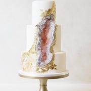 Свадебный торт не как у всех: Торты-минералы