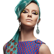 Граффити для волос: Фантастические рисунки на ваших локонах