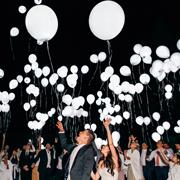 Как заставить воздушные шары светиться?