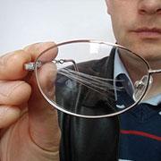 Как избавиться от царапин на стеклах очков.